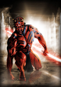 Darth Maul from Scott Harben