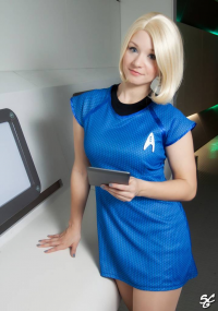 Aigue Marine as Carol Marcus