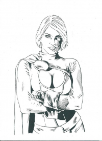 Power Girl from Darren Chandler