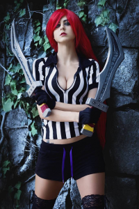 Juby Headshot as Katarina