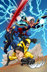 X-Men from archaeopteryx14