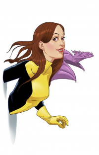 Kitty Pryde from Edward Pun