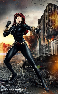 Black Widow from Jeffery Van Schkijaar