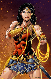 Wonder Woman from Brian Atkins