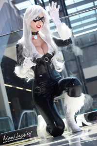 Adami Langley as Black Cat