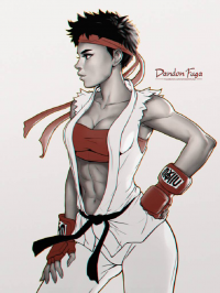 Ryu from Dandonfuga