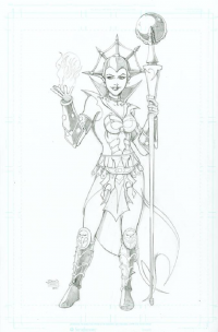 Evil-Lyn from Sean Forney