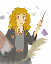 Hermione Granger from Marcos Angelo Rodrigues