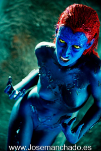 Unknown Female Artist as Mystique