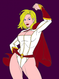 Power Girl von Ak Reynolds