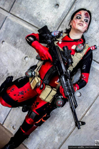 Lady Annaka as Deadpool
