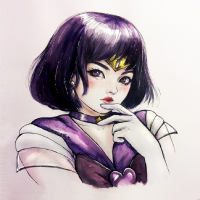 Sailor Saturn from Nindei