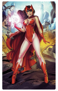 Scarlet Witch from Elias Chatzoudis