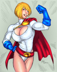 Power Girl from Crazykong