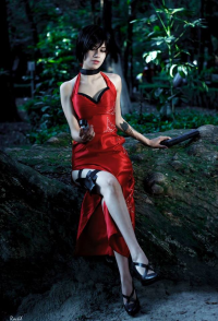 RottenKittendth as Ada Wong