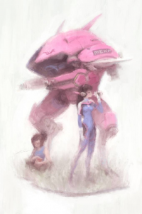 D.Va from Alex Chow