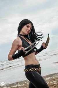 Cinnamon Cosplay as X-23