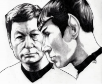 Leonard H. McCoy, Spock from WallyHindle