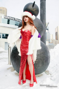 Northern Belle as Jessica Rabbit