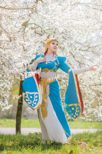Shappi as Princess Zelda