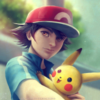 Ash Ketchum from Eterna Legend