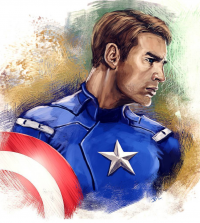 Captain America from Brian Laborada