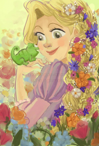 Princess Rapunzel from Yaneying