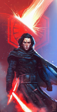 Kylo Ren from Ibrahem Swaid
