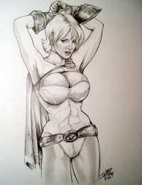 Power Girl from D. W. Miller