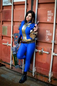 Giada Robin as Vault Dweller