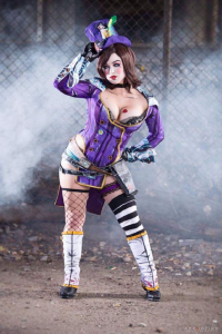 Crash Candy Cosplay as Mad Moxxi