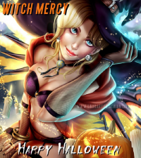 Mercy/Witch from Laurart88