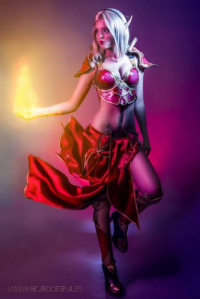 Andrasta as Blood Elf