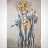 Emma Frost from Mark Brooks Art