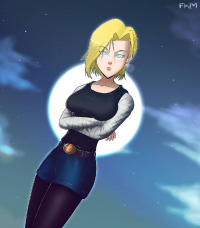 Android 18 from Felipe Kim
