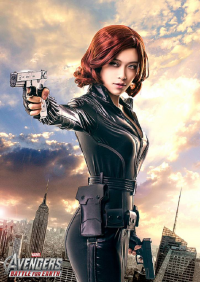 Boomjoy as Black Widow