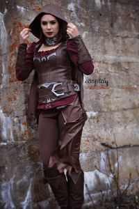 Yelaina May Cosplay as Serana