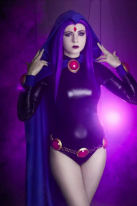 Andy Rae Cosplay as Raven