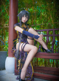 Unknown Female Artist as Luo Tianyi