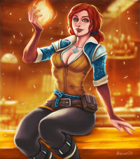 Triss Merigold from Bobcow09