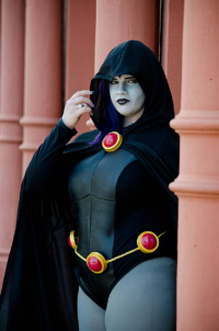 Agent 13 Cosplay as Raven