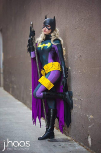 Maid of Might Cosplay as Batgirl