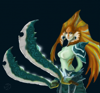 Naga Siren from Hường Sand King