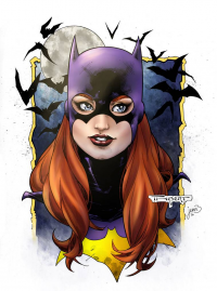 Batgirl from Art Thibert