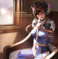 D.Va from Hoobamon