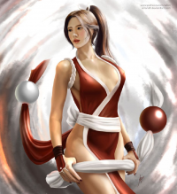 Mai Shiranui from Arionart