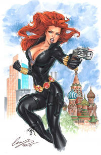 Black Widow from Elias Chatzoudis