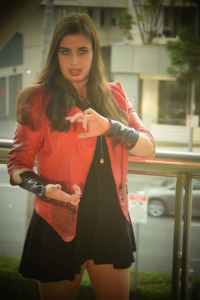 Rhithebloody Cosplay as Scarlet Witch
