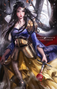 Snow White/Warrior from Sakimi Chan
