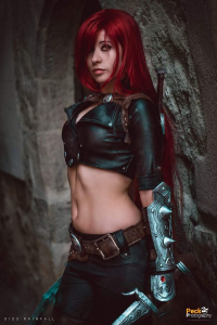 I'm a tiny spaniard as Katarina